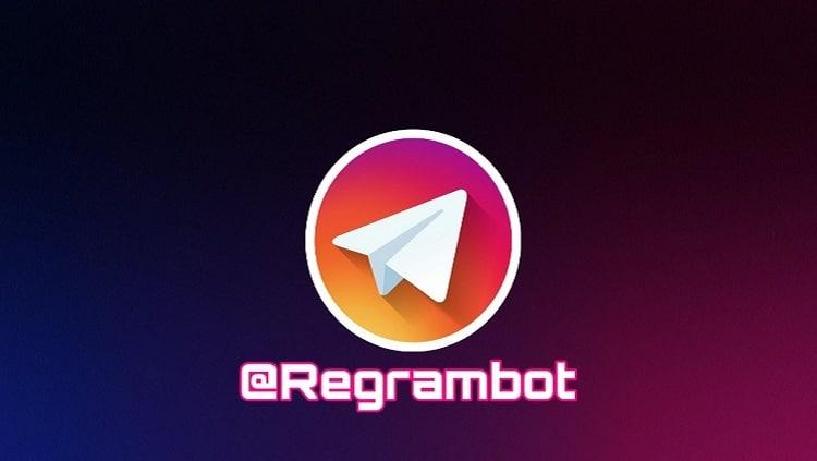 ربات regram